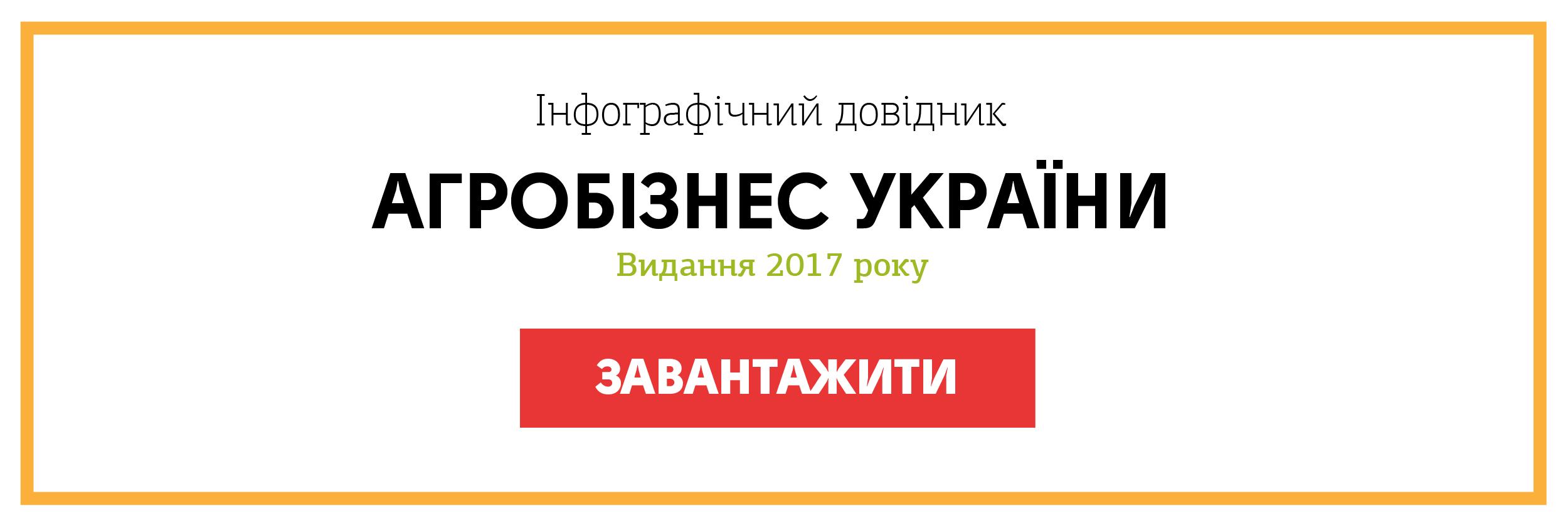"""Інфографічний довідник """"Агробізнес України"""""""